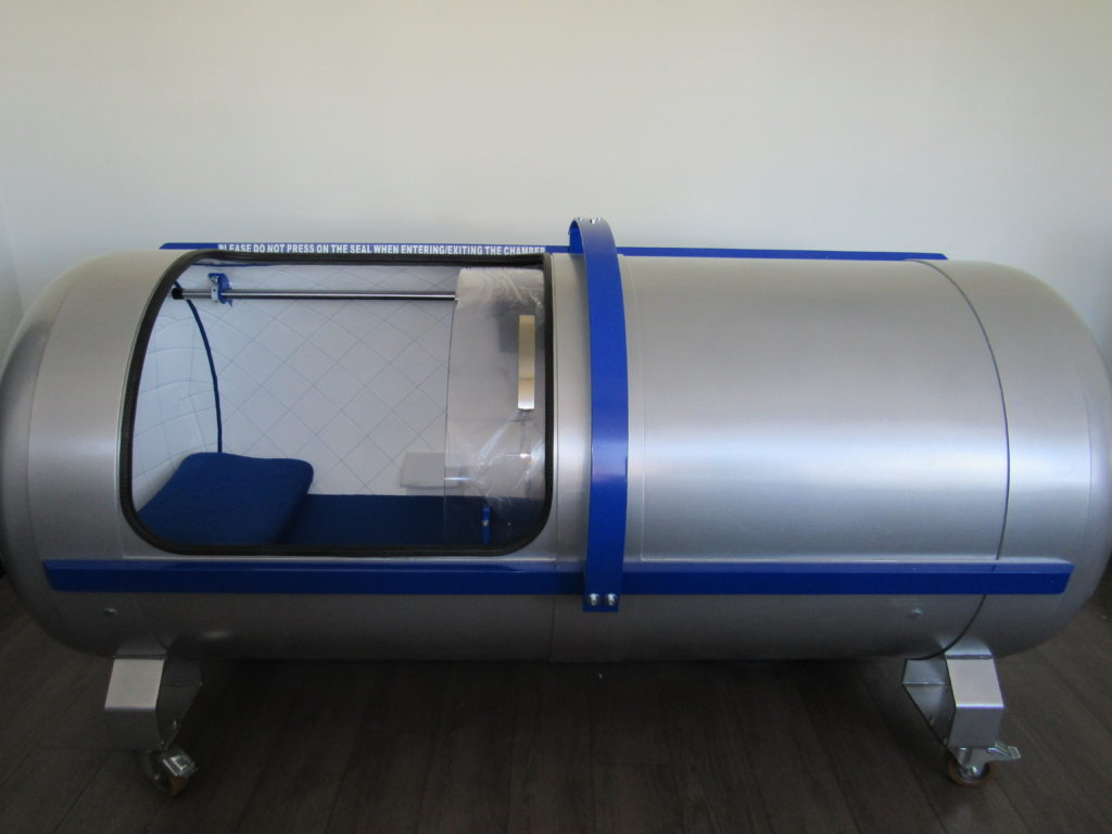 Hyperbaric Oxygen Therapy Chamber Full View